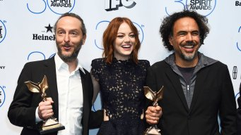 """Birdman,"" Keaton, Moore Win at Spirit Awards"