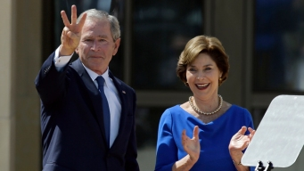 Laura Bush Talks of 'Heartbreak and Healing'