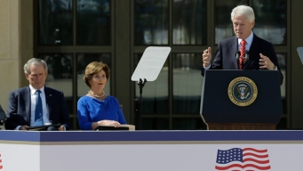 Clinton, Carter Note Bush's Humanitarian Efforts