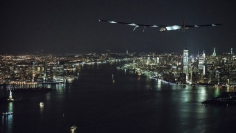 Solar Plane Begins Trans-Atlantic Stretch of Global Journey