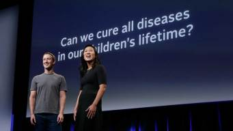 Zuckerbergs Pledge $3B to 'Cure, Prevent or Manage All Disease'