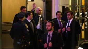 'Hamilton' Cast Addresses Pence at Show; Trump Responds