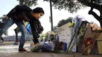 Downtown San Antonio March Honors Slain Police Detective