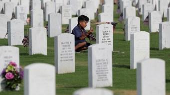 Remains of 8 Veterans, Long Unclaimed, Buried in San Antonio