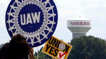 Nissan Workers Vote Against Unionizing in Mississippi