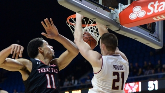 Texas Tech Beats Boston College in Tip-Off Tourney