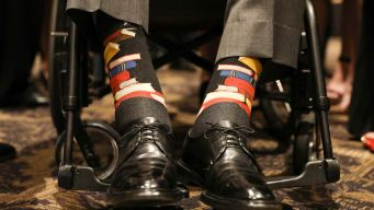 Houston Asks Residents to Honor Bush With Colorful Socks