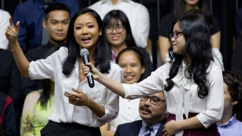 'Let's See What You Got': Obama to Vietnamese Rapper During Town Hall