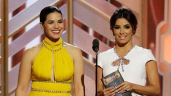 Globes: Ferrera, Longoria Announce Who They Are