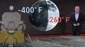Extreme Temperatures on Earth and on the Moon