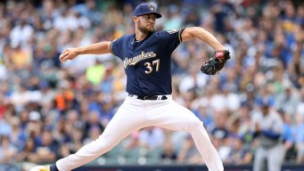 Houser Posts 10 Ks, Brewers Top Rangers for 5th Straight Win