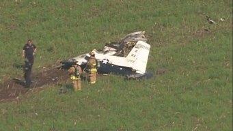 Air Force Trainer Plane Crashes in San Antonio