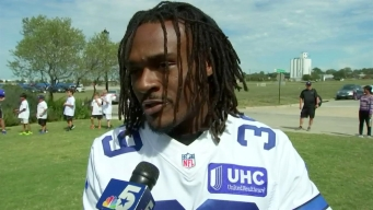 Brandon Carr Takes Time to Help Kids Succeed