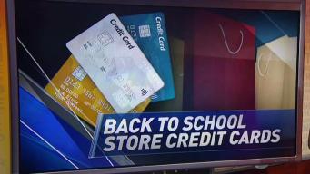 Store Credit Cards: Back to School Beware
