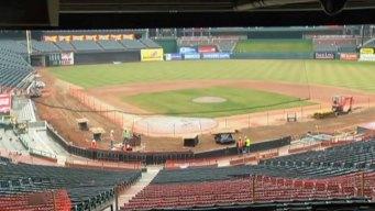 Progress Made on Ballpark Upgrades