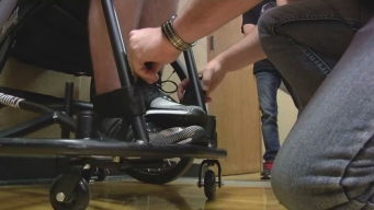 Basketball Player Gets New Wheelchair