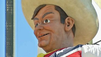 Big Tex Makes His Debut One Day Early