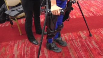 Bionic Legs Featured at Medical Expo in Irving