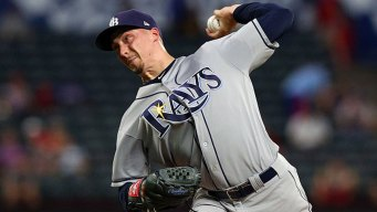 Snell Wins 20th, Ties Rays Record in Victory Over Texas