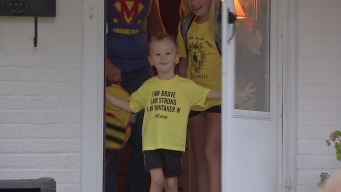 Boy, 4, Gets First Ever Birthday Party