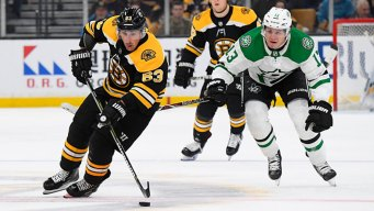 Marchand Scores in OT to Lift Bruins Over Stars