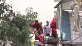 Scenes of Destruction Following Earthquake in Mexico