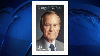Texas Ceremony Marks Issuing of George H.W. Bush Stamp