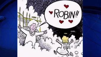 'Pearls of Steel' Cartoon Honors Barbara Bush