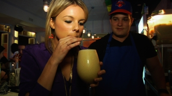 Ali Blends a Boozy Smoothie at Cocktail Bodega