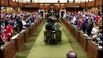Canada Lawmakers Hold Moment of Silence