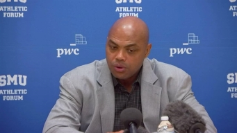 Charles Barkley Speaks at SMU Athletic Forum