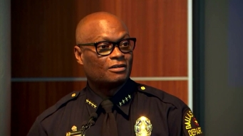 Chief Brown Speaks About DPD Donation