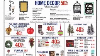Christmas Decorations on Sale, in August