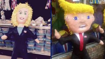 Local Business Gets Political With Piñatas