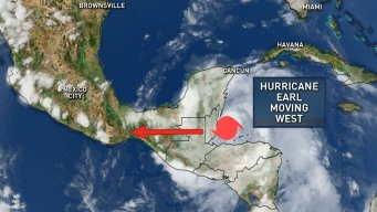 Earl Upgraded to Hurricane As It Nears Belize