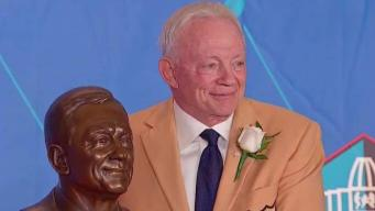 Jerry Jones Dealing With the Death of Frank Broyles