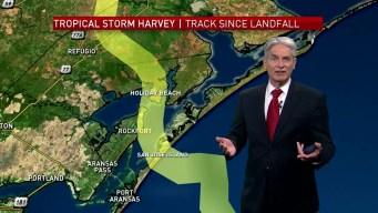 Did Harvey Make Two or Three Landfalls on the Gulf Coast?
