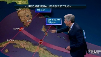 Hurricane Irma on Track to Impact Caribbean Islands