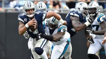 Cowboys' Spotty Passing Attack Holds Key for Elliott's Space