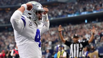 Prescott, Cowboys Wrap Up NFC East With Win Over Bucs