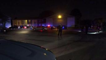 Two Shot at Dallas Apartment Complex