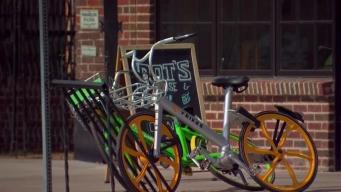 Bike Share Programs, 'Bike Clutter' Challenge Grow