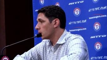 Rangers GM Daniels Discusses Trade Talks