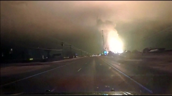 Dash Cam Video Captures Gas Line Blast