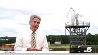 David Finfrock Shows Off NBC 5's New Advanced Radar