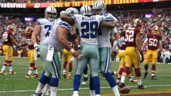 Cowboys Rout 'Skins, 44-17