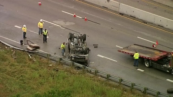RAW VIDEO: Deadly Crash on I-30 at Highway 360