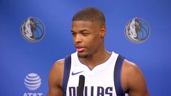 Mavs Rookie Looking Forward to First Season