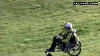 Disabled Paraglider Inspires