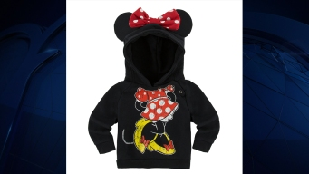 Disney Recalls 15K Minnie, Mickey Mouse Sweatshirts